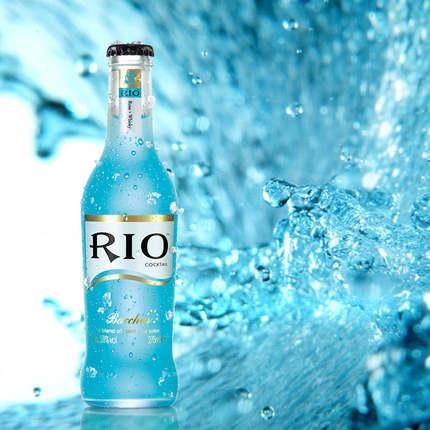【太划算】rio锐澳鸡尾酒(蓝玫瑰/水蜜桃/香橙/宾治/紫葡萄) 275ml/瓶图片